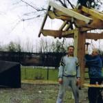Bau des Grillplatzes