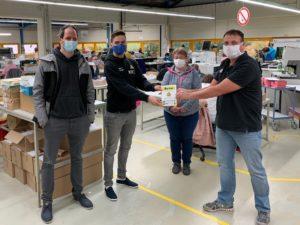 WZB: Neuer Druckerei-Partner des FCV
