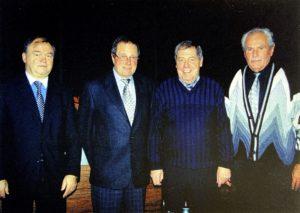 Ehrenmitglieder an der Jahresabschlussfeier 2004