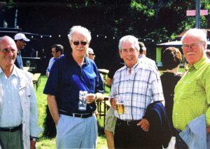 Ehrenmitglieder an Pfingsten 2004