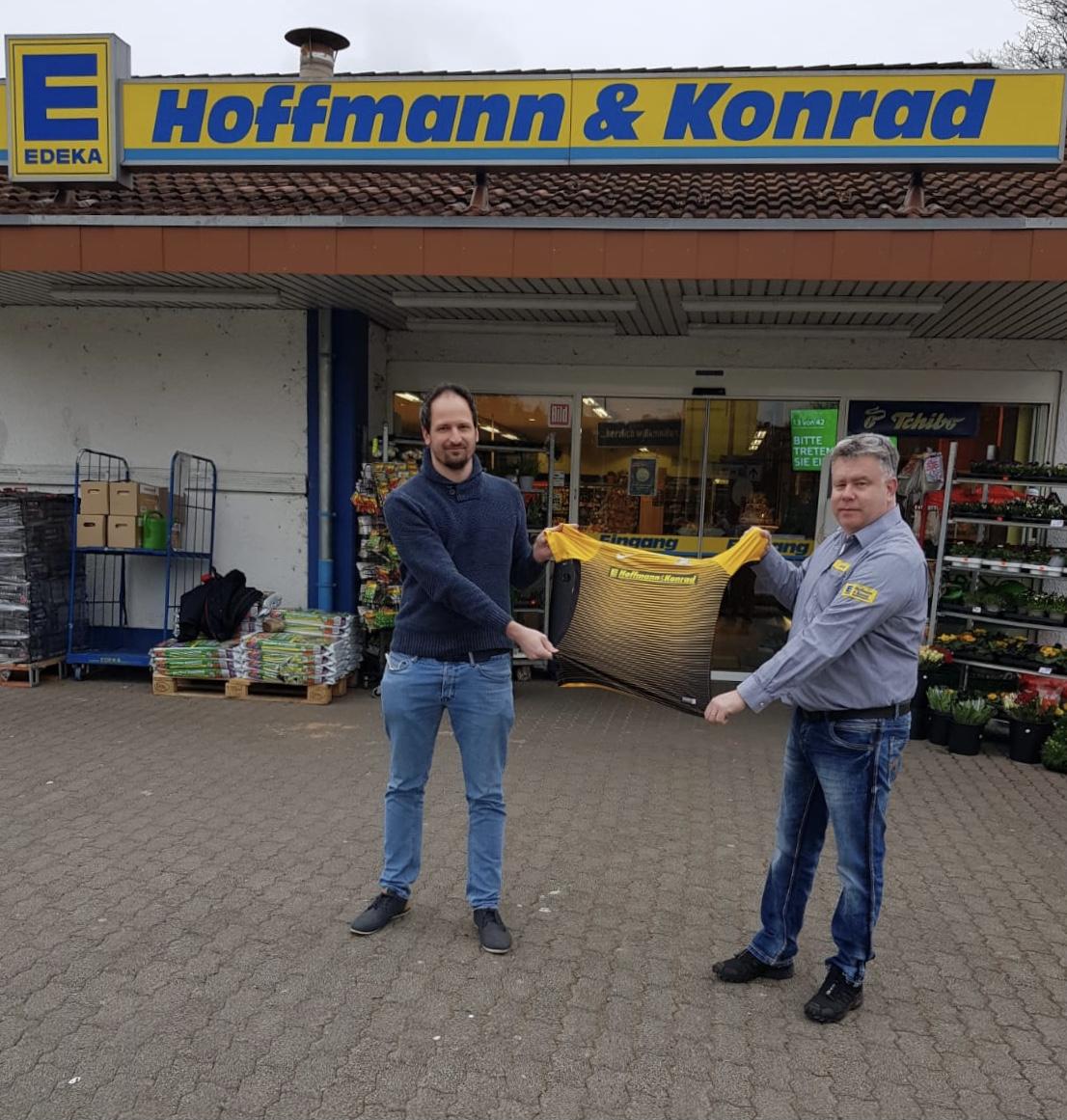 Verlängerung der Partnerschaft mit Edeka Hoffmann & Konrad