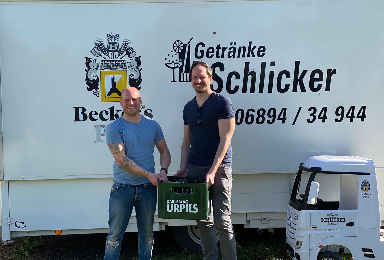 Getränke Schlicker wird neuer Partner