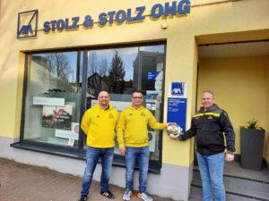 AXA Stolz & Stolz oHG weiterhin Sponsor des FCV