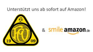 Wir sind bei Amazon Smile registriert!